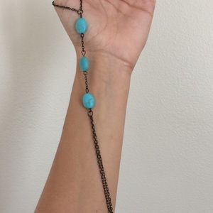 Jewelry - Vintage ankle bracelet that connects to toe!!